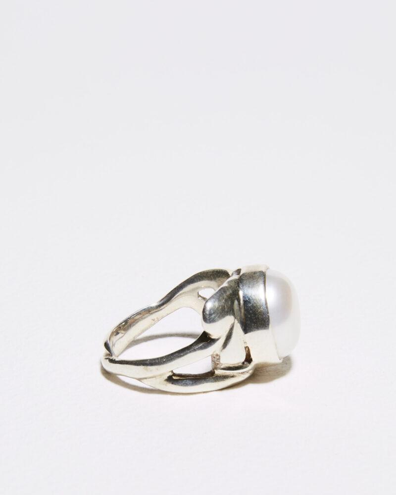 silver leaf ring 1